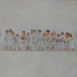 8-50x50 cm-Acrylic on wood board-Sold